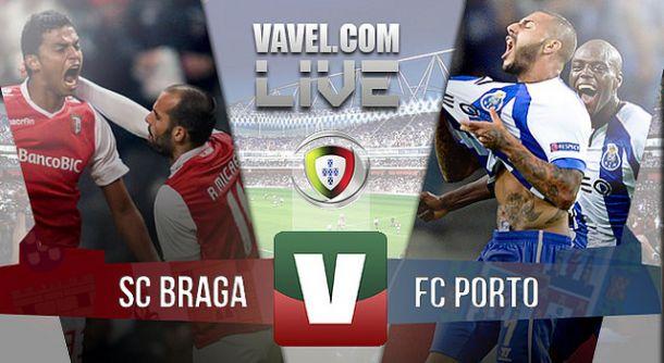 Sporting Braga vs Porto, Liga NOS en vivo y en directo online (0-1)