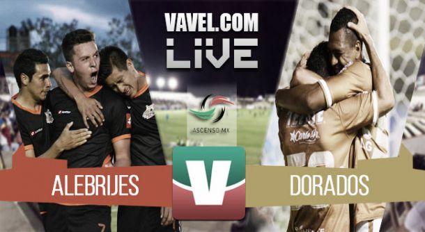 Resultado Alebrijes - Dorados en Ascenso Mx 2015 (0-0)