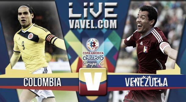 Resultado Colombia - Venezuela en Copa América 2015 (0-1)