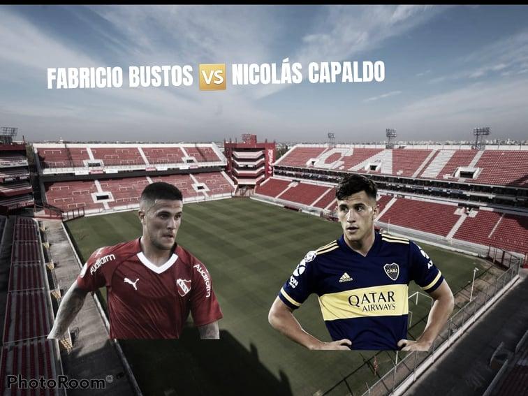 Fabricio Bustos vs Nicolás Capaldo: La proyección su principal virtud y claves en la ofensiva