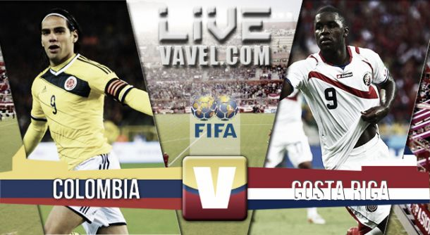 Resultado Colombia - Costa Rica en partido amistoso FIFA 2015 (1-0)
