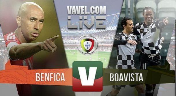 Resultado Jogo Benfica x Boavista na Liga NOS 2015 (2-0)