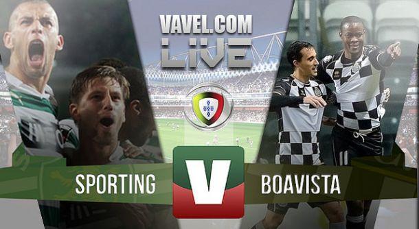Resultado Sporting x Boavista na Primeira Liga 2015 (2-1)