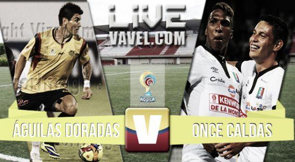 Resultado Águilas Doradas - Once Caldas en la Liga Águila 2015 (2-1)
