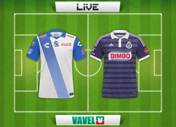Resultado Puebla - Chivas en la Liga MX (1-2)
