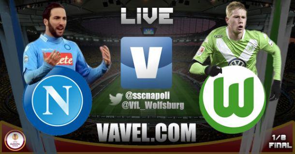 Live Napoli - Wolfsburg, Diretta risultato partita Europa League (2-2)