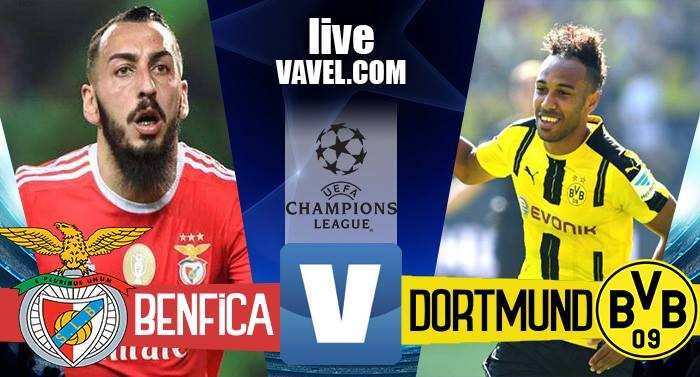 Risultato Benfica - Borussia Dortmund in Champions League 2016/17 - Mitroglu! (1-0)