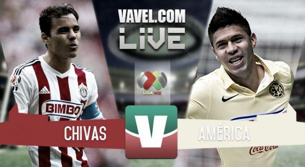 Resultado Chivas - América en Clausura 2015 (1-1)