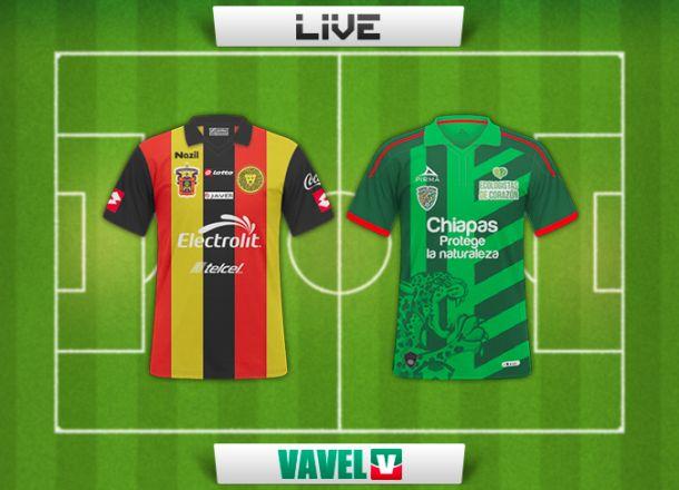 Resultado Leones Negros - Jaguares Chiapas en la Liga MX 2015 (0-1)
