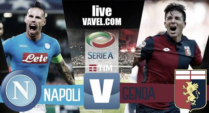 Risultato Napoli - Genoa in Serie A 2016/17 - Zielinski, Giaccherini! (2-0)