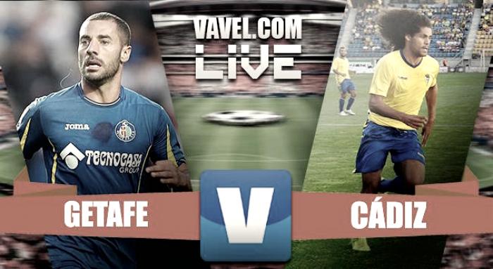 Resumen Getafe CF 3-2 Cádiz CF