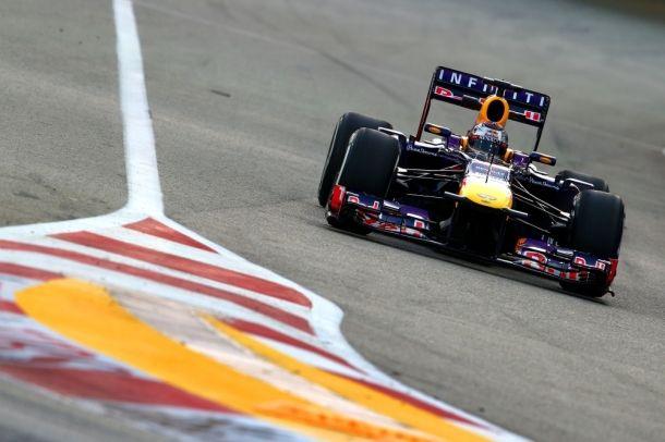 Singapour EL3 : Grosjean menace Vettel