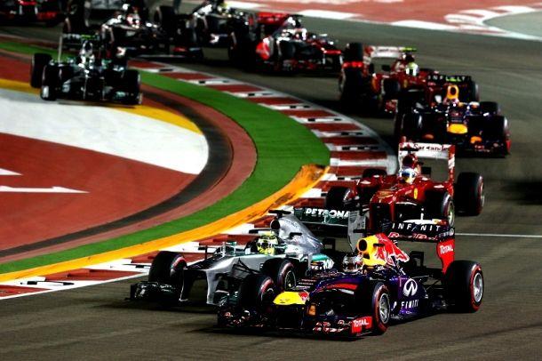 Vettel éteint tout le monde