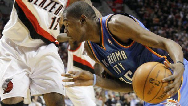 Durant è sempre più MVP, OKC sgonfia i Blazers, Miami ok