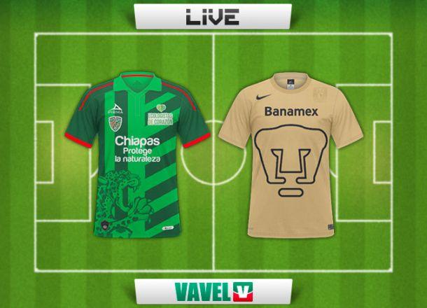 Resultado Jaguares - Pumas Copa MX (3-1)