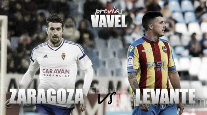 Previa Real Zaragoza - Levante UD: el líder visita La Romareda