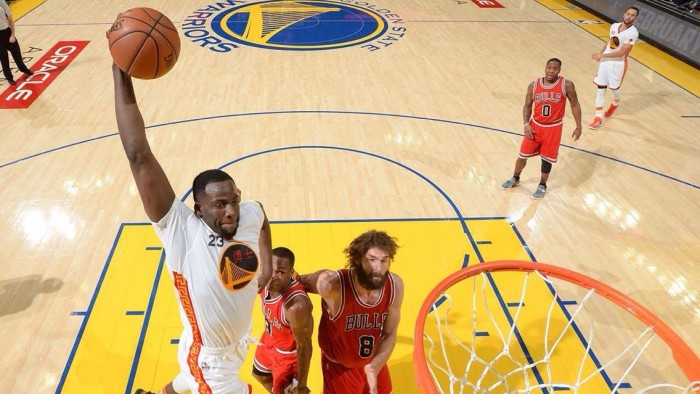 NBA - Golden State sul velluto: Bulls abbattuti 123-92