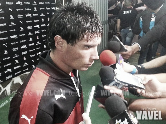 "Matías Alustiza: ""Regalamos 45 minutos"""