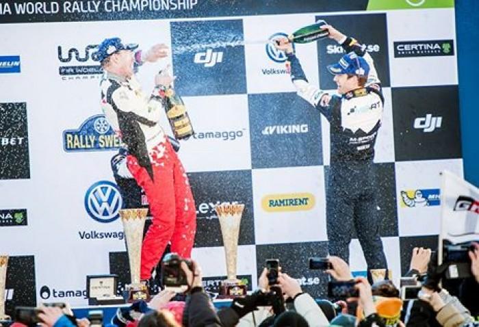 Wrc, Rally di Svezia - Latvala nella storia