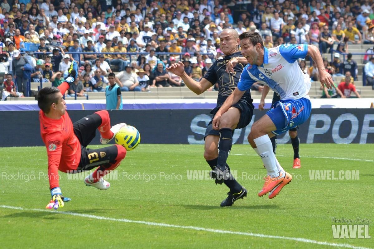 Club Puebla sufre quinto revés seguido; pierde ante Pumas UNAM