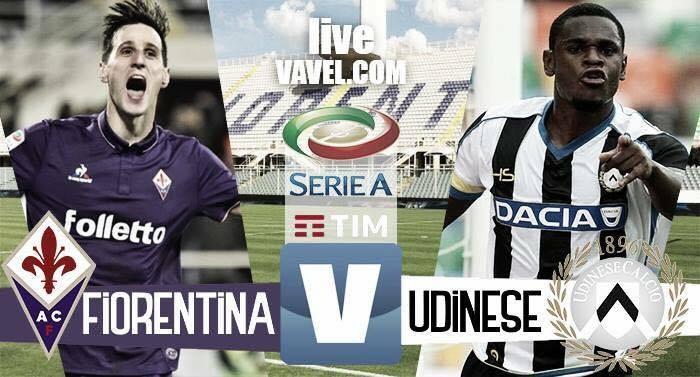Risultato Fiorentina - Udinese in Serie A 2016/17 - Borja Valero, Babacar, Bernardeschi!(3-0)