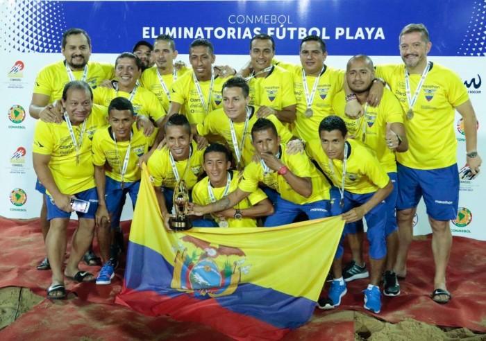 Ecuador ya es parte del mundial de fútbol playa