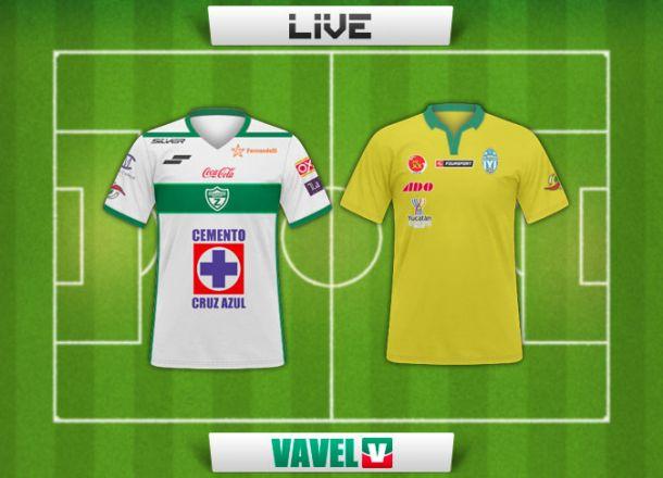 Resultado Zacatepec - Mérida en Ascenso MX 2015 (0-1)