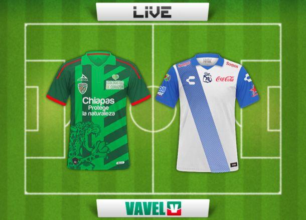 Resultado Jaguares de Chiapas - Puebla en Liga MX 2015 (2-2)