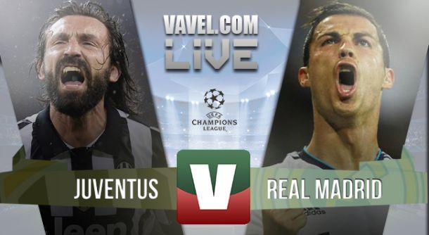 Resultado Juventus x Real Madrid na Liga dos Campeões (2-1)