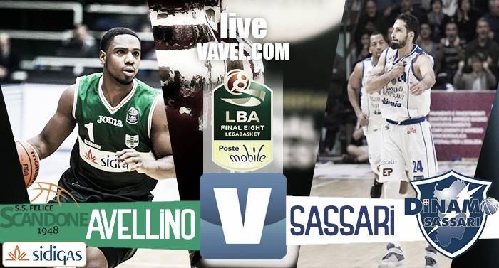 Sidigas Avellino - Banco di Sardegna Sassari, Final Eight 2017 Coppa Italia basket (68-69)
