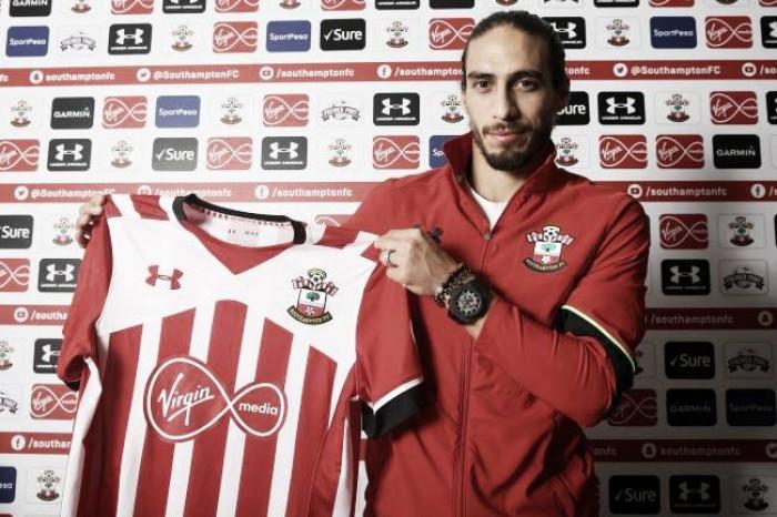 Martín Cáceres, nuevo jugador del Southampton
