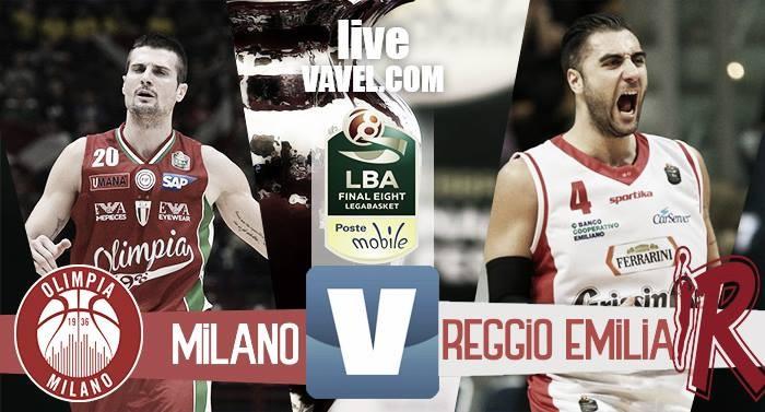 EA7 Milano - Grissin Bon Reggio Emilia, Final Eight 2017 Coppa Italia basket (87-84)