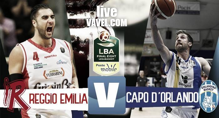 Grissin Bon Reggio Emilia - Betaland Capo d'Orlando, Final Eight 2017 Coppa Italia basket (63-61)