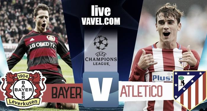Risultato Bayer Leverkusen - Atletico Madrid in Champions League 2016/17 - Saul, Griezmann, Bellarabi, Gameiro, Savic (A), Torres! (2-4)