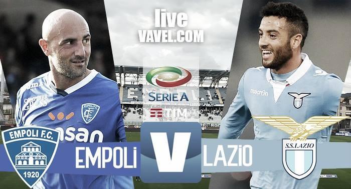 Risultato Empoli - Lazio in Serie A 2016/17 -Krunic, Immobile, Keita(1-2)