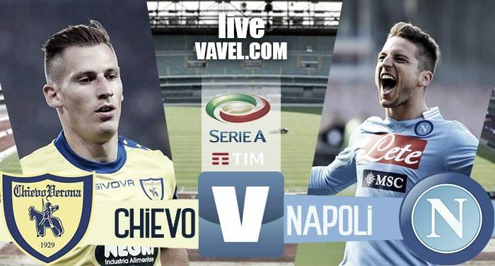 Chievo - Napoli in Serie A 2016/17 (1-3): il Napoli passa al Bentegodi!