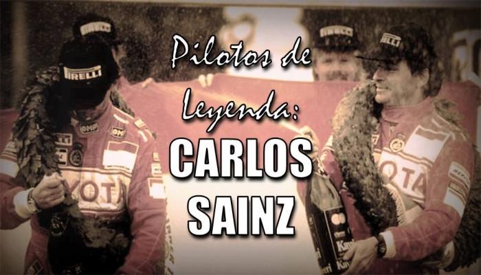 Pilotos de Leyenda: Carlos Sainz