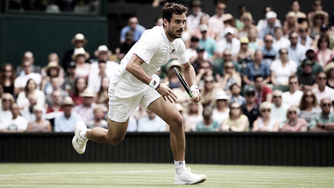 Pella consegue reação incrível, vence Raonic de virada e está nas quartas de Wimbledon
