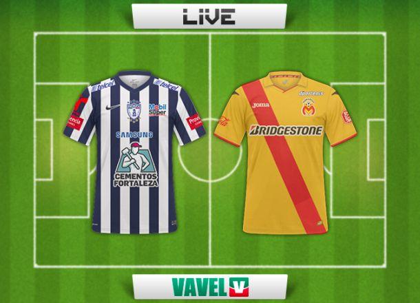 Resultado del partido Pachuca - Monarcas en la Liga MX (2-0)