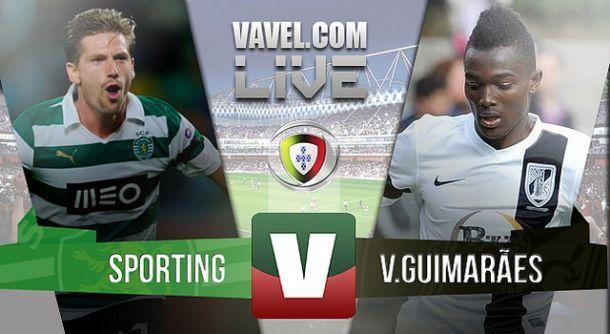 Resultado Sporting x Vitória Guimarães na Liga NOS (5-1)