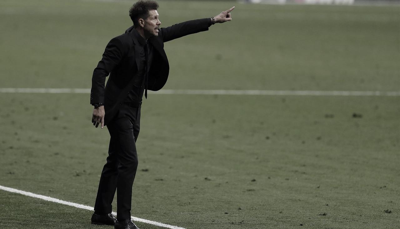 """Simeone: """"El empate es un resultado justo"""""""