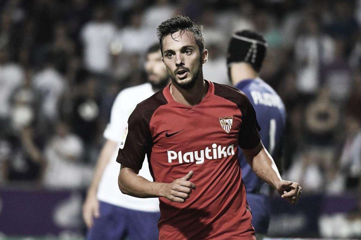 Sarabia marca duas vezes, Sevilla volta a vencer Újpest e avança na Europa League