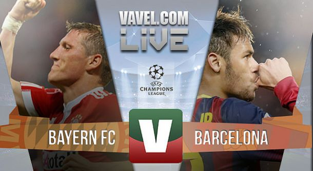 Resultado Bayern Munique x Barcelona na Liga dos Campeões 2015 (3-2)