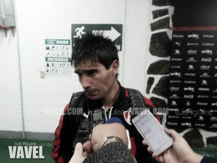 """Matías Alustiza: """"El gol no se me quiere dar"""""""