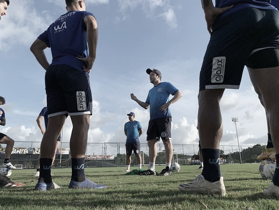 Sem contar com recentes reforços, Confiança está pronto para enfrentar Fortaleza