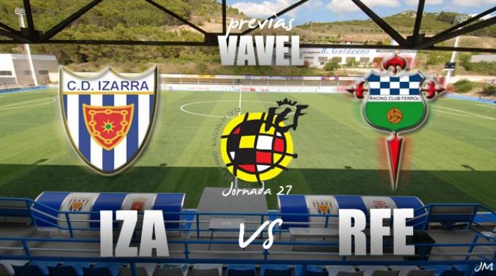 CD Izarra - Racing de Ferrol: duelo para huír de la quema.