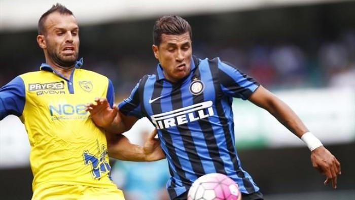 Inter - Chievo Verona in Serie A 2015/2016 (1-0)