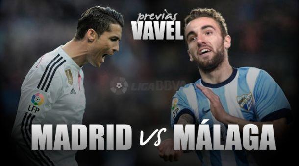 Real Madrid - Málaga: sin margen de error y con un ojo puesto en la Champions