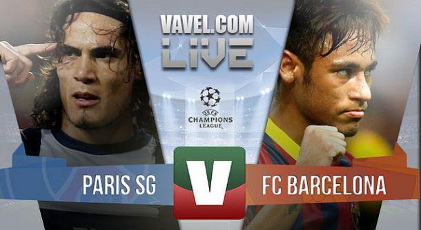 Resultado Paris Saint-Germain x Barcelona na Champions League 2015 (1-3)