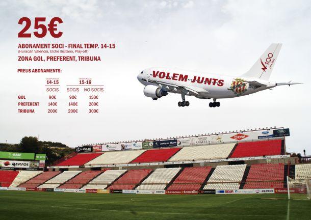 El Nàstic presenta la campaña de socios para el final de temporada
